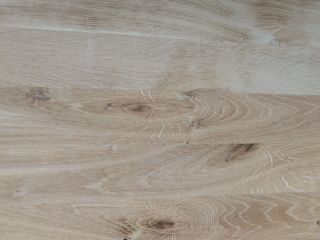 Solid wood panel Oak continuous (fix) rustik